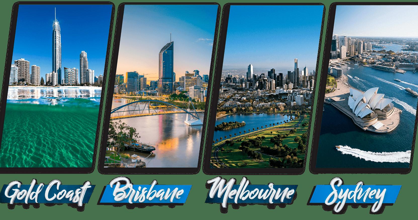 Ciudades donde puedes realizar tus estudios